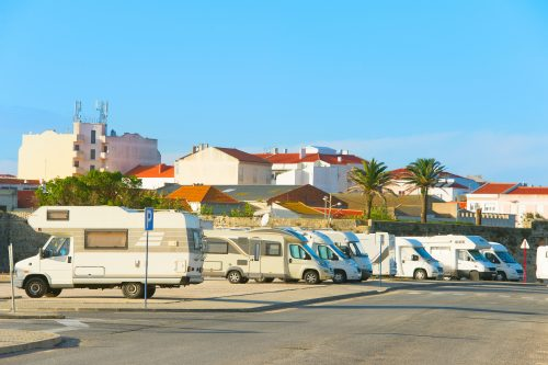 Karavan v Portugalsku
