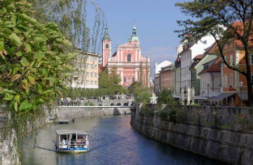Hlavní město Lublaň, zdroj: wikipedia.org