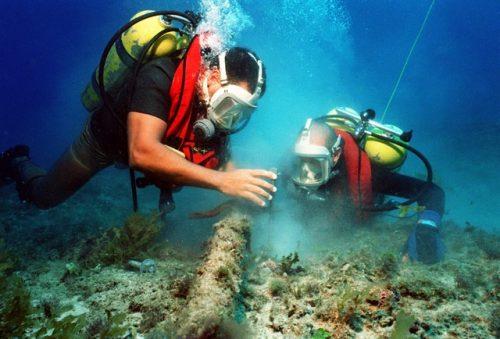 Potápění do hloubky 40 m