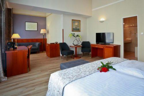 Pokoj Junior Suite v hotelu Belvedere