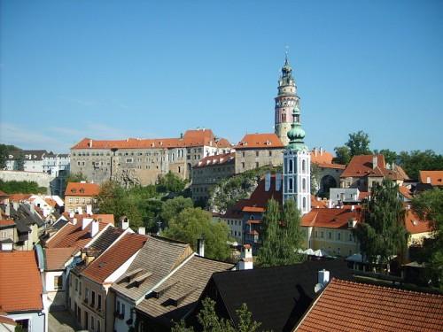 Český Krumlov, zdroj: wikipedia.org @ Ondřej Koníček