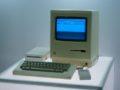 První osobní počítač Macintosh z roku 1984, zdroj: wikipedia.org