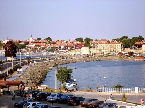 Nesebar - historické centrum města, zdroj: wikipedia.org