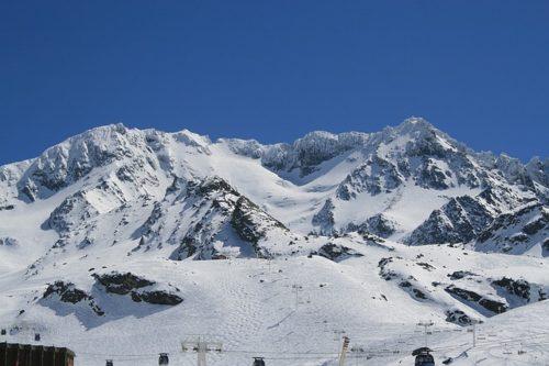 lyžování Francie