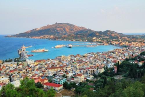 Hlavní město Zakythos, zdroj: shutterstock.com